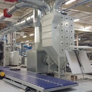instalacje odpylania w przemyśle