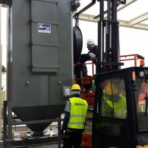 montaż zbiornika powietrza